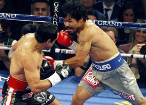 Márquez deja 'KO' a Pacquiao en el sexto asalto