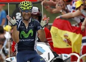 Valverde empieza a tope: primera carrera y primera victoria en la Vuelta a Andalucía