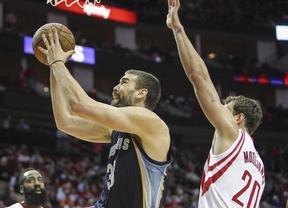 Otra machada de Marc: anota en el último suspiro la canasta vencedora a domicilio ante Houston Rockets (100-102)