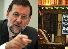 El Ibex cierra su peor semana del año con un desplome del 2,75% justo en medio del polémico optimismo del Gobierno