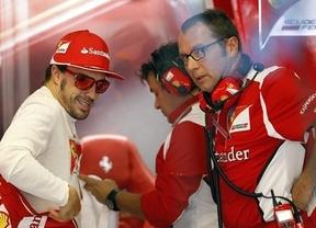 Alonso y Ferrari lo tienen claro pese a la ventaja de Red Bull: