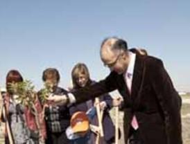 La Diputación de Valladolid celebra el  Día del Árbol 2011
