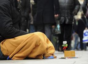 Alerta Cáritas: el 66% de la población española, en peligro de exclusión social