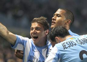El 'Euromálaga' busca el tercer puesto de la Liga ante un Racing con el agua al cuello