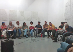Reunión de Ganemos Madrid con círculos locales de Podemos