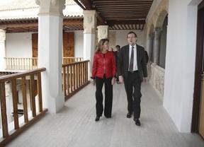 Rajoy, de visita en el Palacio de Fuensalida