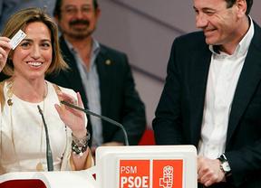 Al fin un apoyo para Chacón: Tomás Gómez anima a que se presente al Congreso