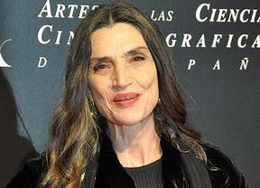 Ángela Molina ve premiada su carrera con la Medalla de Oro de la Academia de Cine
