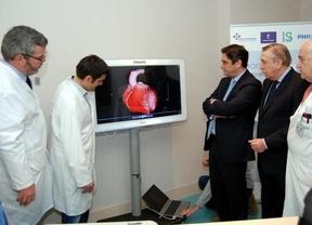 Echániz inaugura un nuevo TAC coincidiendo con el 40 aniversario del hospital de Talavera