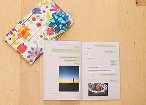 WhatsApp 'de mi vida': libros de conversaciones como regalo de San Valent�n
