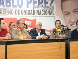Bandera Roja oficializa respaldo a candidatura de Pablo Pérez