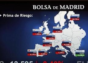 Tras la situación 'de contagio griego' que vivió ayer la prima de riesgo española: hoy abre a la baja, situándose en 166 puntos