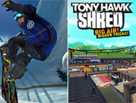 'Tony Hawk: Shred' llega con una tabla para el salón