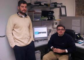 M.Luis y Leo Lauper, fundadores de AirPersons, una app que te acerca el psicólogo a tu bolsillo