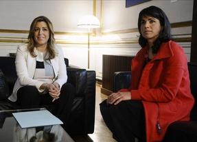 Discrepancias entre Teresa Rodríguez y la dirección de Podemos por la investidura de Susana Díaz