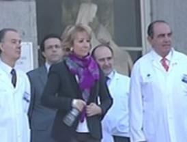 Aguirre abandona el hospital: