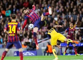Duelo de titanes: el 'Euroatlético' no se arruga ante el Barça y se trae un gran resultado al Manzanares (1-1)