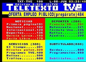 Rubalcaba gana las elecciones... y luego el Teletexto desconecta