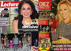 Isabel Pantoja reina en las revistas del corazón: de las Campanadas... ¿a la cárcel?