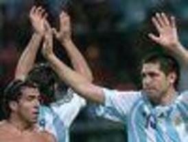 Argentina goleó a Perú y se metió en la semifinal de la Copa América