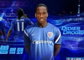 El 'efecto Drogba', el jugador mejor pagado de China, ya se nota: buen debú del marfileño con el Shanghai