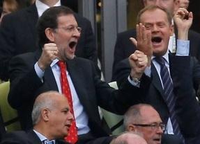 Rajoy... ¿héroe o villano?: su paso por la Eurocopa le encumbra como protagonista absoluto