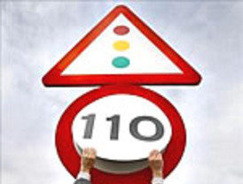 Sobrepasar el límite de 110 km/h se multará con 100 euros