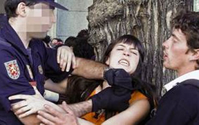 La policía de Zapatero se pasó de dureza contra el 15-M, según un informe de Human Rights Watch