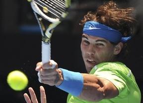 Nadal sigue sobreviviendo con soltura en Australia: ganó con facilidad al alemán Tommy Hass