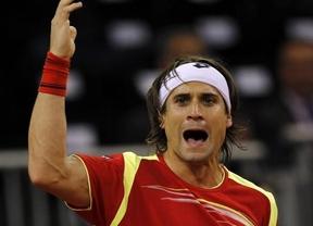 Copa Davis: David Ferrer vence al americano Querrey y aventaja al equipo español en la semifinal