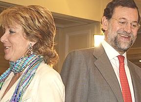 Las filas populares auguran ya un nuevo 'combate' entre Rajoy-Aguirre a cuenta de las listas electorales