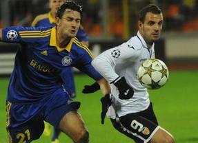 Si el Valencia bate al Bate Borisov se asegura su presencia en octavos de la Liga de Campeones