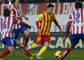 No va más: tragedia y/o gloria en el Calderón para un Atleti con la duda de Costa y/o un Barça con la baja de Piqué
