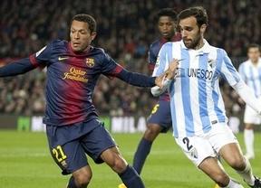 Horario Málaga - Barça Copa del Rey 2013: el partido se televisa en Telecinco a las 22:00