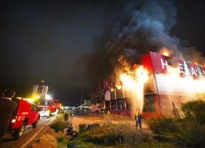 Un incendio quema un bazar chino en Olías del Rey (Toledo)