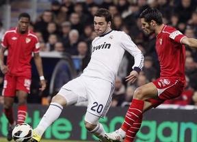 'Matador' Ronaldo 'cristianiza' al Real Madrid con un triplete ante un Sevilla impotente