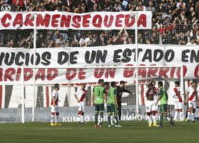 Otro apoyo solidario del Rayo Vallecano: destinará 5 euros por entrada a Carmen Martínez