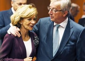 Salgado comunica a la UE el compromiso de Rajoy de seguir con las reformas y el ajuste