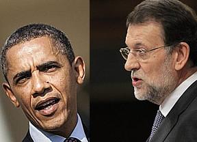 Rajoy olvida la amarga victoria andaluza conociendo a Obama en Seúl