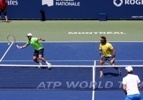 Nadal inicia con buen pie el Masters de Montreal: vence en dobles con Andújar a Ferrer y Feliciano
