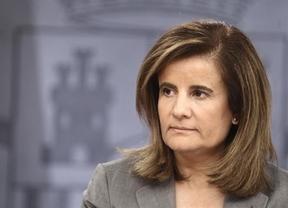 La optimista Báñez garantiza que jubilados y jóvenes cobrarán pensión y que mejorarán con el tiempo