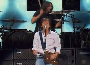Así sonó la reunión de Nirvana con Paul McCartney