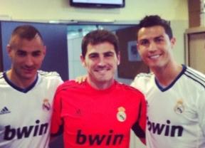 ¿Quién dijo triste?: Casillas nos enseña la sonrisa de Ronaldo en su vuelta a los entrenamientos