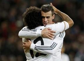 Bale hace de Ronaldo ante el Valladolid y consigue su primer 'hat-trick' como madridista (4-0)