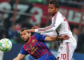 Champions: el Barça aprieta pero no ahoga a un Milan que apostó por el cerrojazo a la italiana (0-0)