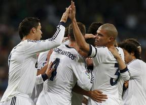 El Madrid, con una manita, y Ronaldo, con un triplete, recuperan su pegada ante el Depor (5-1)