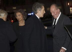 Reyes, ministros y embajadores, en el funeral de la duquesa de Alba