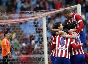 El Valladolid paga los platos rotos de un Atlético que en cinco minutos ya le había estoqueado dos veces