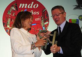 La ausencia de Aguirre protagoniza la gala de los X Premios Madrid