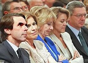 Aguirre se 'moja' para apoyar a Ana Botella como candidata a alcaldesa de Madrid